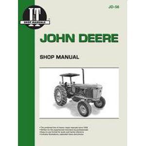I T Shop Repair Manual For John Deere Models 2840 2940 2950