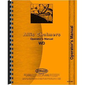 Operators Manual (Allis Chalmers Model WD)