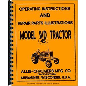 Operators Manual (Allis Chalmers Model WD45)