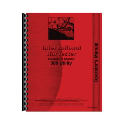 Farmall 300 Utility Operators Manual