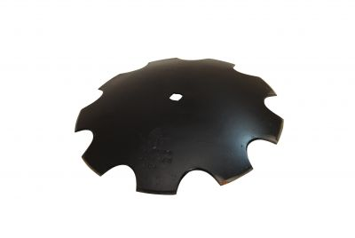 "Notched Disc Blade - 18"" - 11 gauge for 7/8"" Square or 1"" Round Axles"