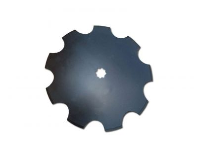 "Notched Disc Blade - 18"" For 1-1/8"" or 1-1/4"" Square Axle"