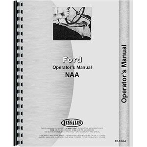 Operators Manual (Ford Model NAA)