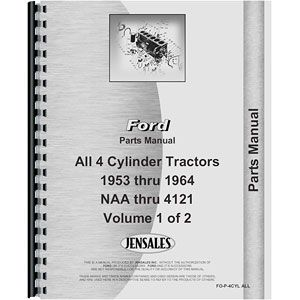 Parts Manual (Ford Models 600 - 4000)