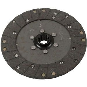 "9"" Clutch Disc With 1-1/8"" ID for Massey Ferguson, Massey Harris and Oliver Tractor Models"
