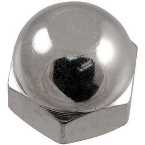 Acorn Steering Wheel Nut - Chrome Plated