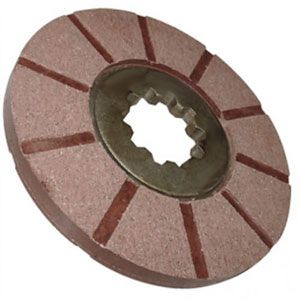 Bonded Brake Disc for International/Farmall Models 340, 504, 606 and More