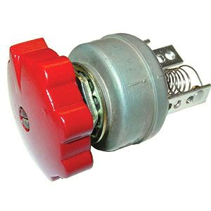 6 Volt 3 Position Rotary Light Switch for International/Farmall Models A, BN, Super C, MV and More