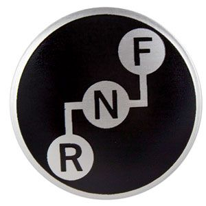 Forward / Reverse Decal Insert for International/Farmall Models 544, 686, 1066, 2656 and More