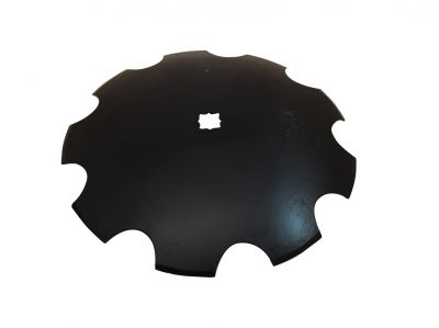 "Notched Disc Blade - 18"" For 1"" or 1-1/8"" Square axle"