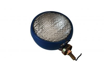 12 Volt Headlamp Assembly - Blue Enamel Finish - for Ford 2N, 8N, 501 Series, NAA and More