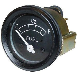 6 Volt Fuel Gauge for Ford (1939-1964) Models 501, 1801 Industrial, 4030 and More