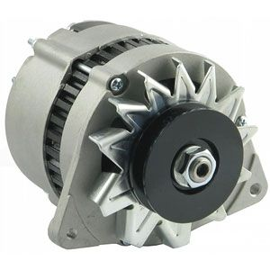 12 Volt - 45 Amp Lucas Style Alternator for Case/International/Farmall Models 385, 585, 684, 784 and More