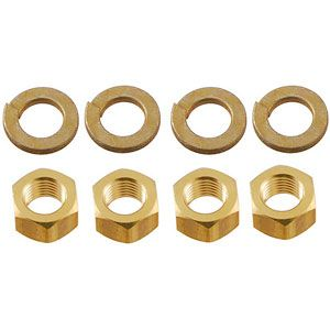 Brass Manifold Nut Kit for Ford (1939-1964) Models 9N, 2N and 8N