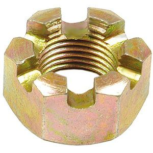 "5/8"" NF Slotted Nut for various Ford/New Holland Tractors"