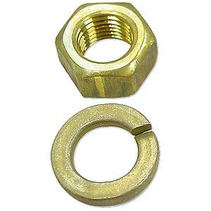 Brass Manifold Stud Nut for Ford (1939-1964) Models 9N, 2N and 8N