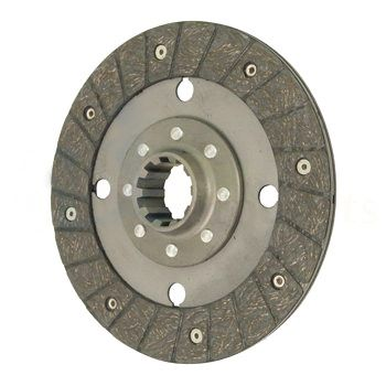 "9"" - 10 Spline PTO Disc for Case/IH, Massey Ferguson, International/Farmall & Mahindra"