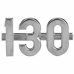 """130"" Side Emblem for International/Farmall Model 130"