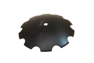"Notched Disc Blade - 20"" For 1"" or 1-1/8"" Square Axle"