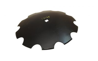 "Notched Disc Blade - 20"" for 1"" Square axle"