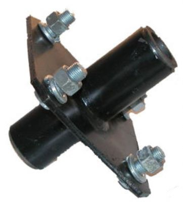 """Fabricated Tailwheel Hub with Bushings for Big Bee, John Deere, Land Pride and More with 1"""" Axle"""
