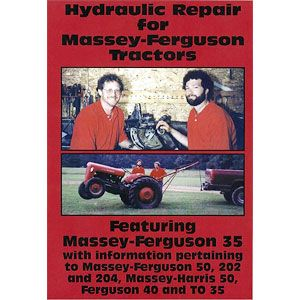 Hydraulic Repair Video (MH50, Massey Ferguson TO35, 35, and More)