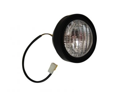 12 Volt Sealed Beam Universal Headlight Assembly for Allis Chalmers, Ford/New Holland, John Deere Tractors and More