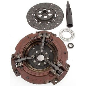 "11"" Dual Clutch Kit With 10 Spline for Massey Ferguson TO35, 135, 202 Industrial and More"