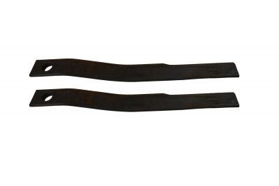 Rotary Cutter Blade ((Set of 2) Woods 1/2 x 3 x 26.5 CCW)