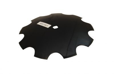 "Notched Disc Blade - 16"" for 7/8"" square or 1"" round axle"