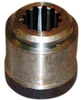 12 Spline Stump Jumper Hub for BushHog, Hico-Howse, Mohawk and More
