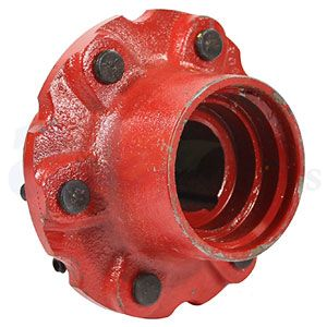 Front Wheel Hub 6 Lug Heavy Duty