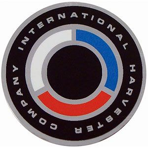 Steering Wheel Cap Insert Decal for International/Farmall Models 330, 450, 504, 686, 1466, 3414 and More