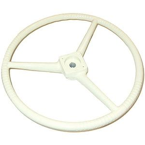 Creme Steering Wheel for Allis Chalmers D Series and I600 Industrial