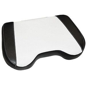 Black / White Seat Cushion for Allis Chalmers D10, D17, 175, 190, 220 and More