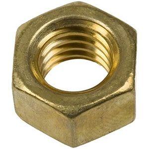 """Manifold Nut 3/8"""" Brass"""