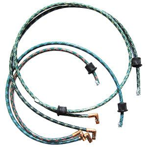Custom Fit Spark Plug Wire Set for Ford (1939-1964) Model 8N with Front Mount Distributor