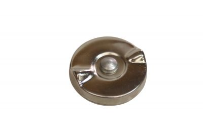 Chrome Fuel Cap (Non-Vented) for Ford (1939-1964) Models 9N, 2N and 8N
