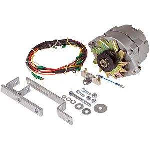 Alternator Conversion Kit for Ford (1939-1964) Models NAA, 700, 4030 and More