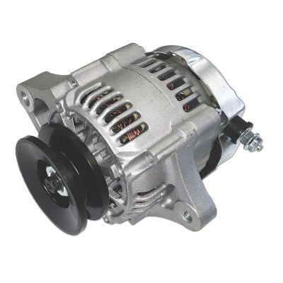 Mini 35 Amp 12-V Negative Ground Alternator with Pulley