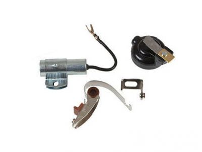 Ignition Kit With Rotor for International Farmall Models A, BN, H, MV and More with Horizontal Distributors
