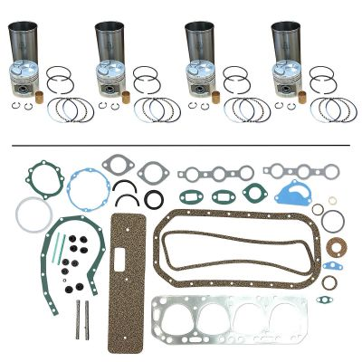 """Base Engine Kit with 3-1/2"""" Overbore for Ford (1939-1964) Models NAA, 600, 601, 700, 701, 2000 up to 1964"""