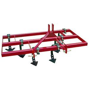 "Garden Package 60"" - Spring Tine Cultivator with 16"" Disc Hillers & Buster"