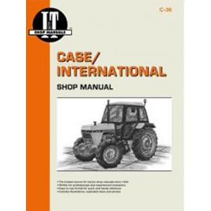 I&T Shop Manual C-36 (Case International)