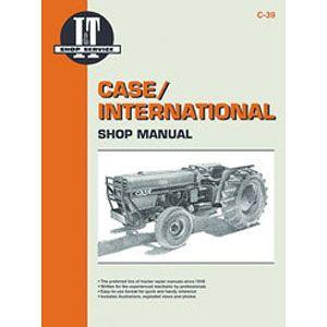 I&T Shop Manual C-38 (Case International - Models 1896, 2096)