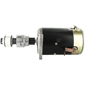 6 Volt Starter with Drive for Ford (1939-1964) Models 501, 600, Golden Jubilee and More