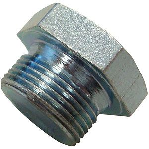 """Oil Pan Drain Plug (7/8"""") for Allis Chalmers, Case, Ford, International/Farmall Tractors and More"""