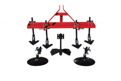 "Garden Package - 4 Shank Cultivator with 14"" Disc Hillers & Buster"