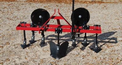 "Garden Package - Heavy Duty 6 Shank Cultivator with 16"" Disc Hillers & Buster"