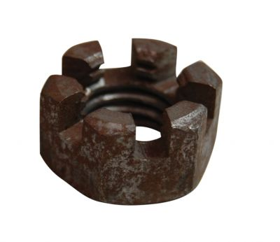 "5/8"" Slotted Nut for Ford Models 8N, NAA, 700, 1841 Industrial, 4031 and More"